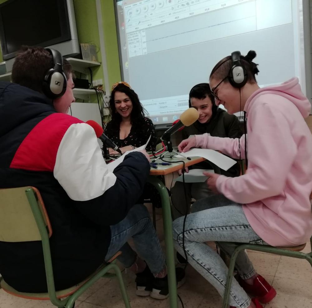 Obradoiro de radio en Baralla